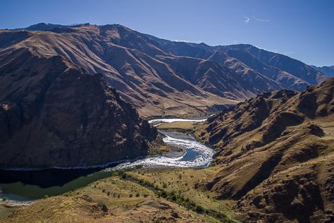 Guided Snake River Rafting through Hells Canyon